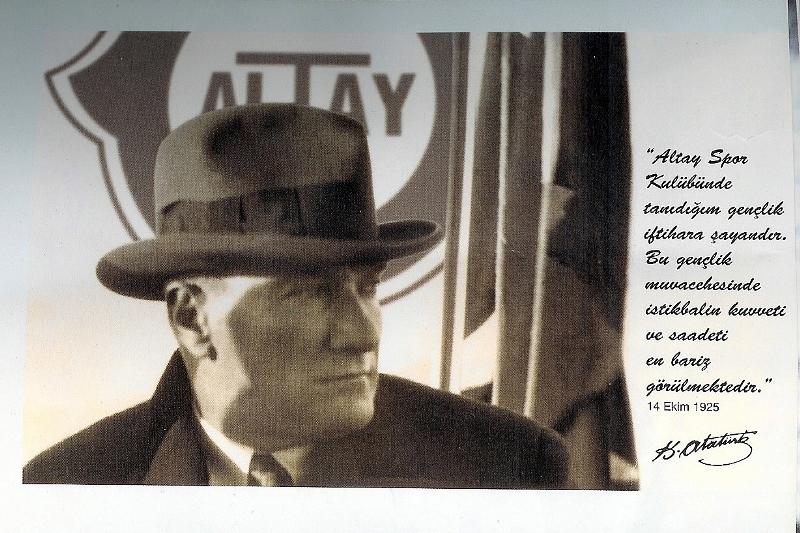 Mustafa Kemal Atatürk'ün, Kulübümüzü ziyaretinin 95. yıl dönümünü gururla anıyoruz …