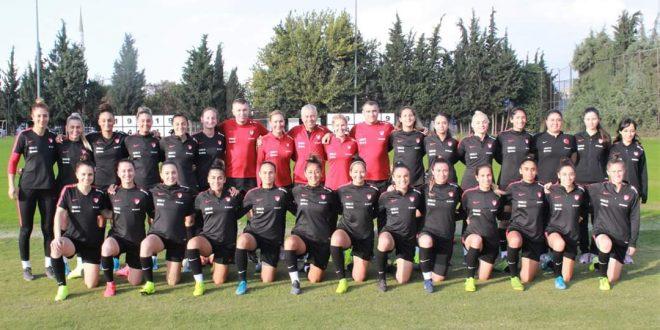 Kadın A Milli Futbol Takımımız hazırlıklarına tesislerimizde start verdi